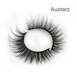 Auxtarz 3 Pairs False Eyelashes Synthetic Fiber Material| 3D Mink Lashes| Cat Eyes Look| Reusable| 100% Handmade & Cruelty-Free|
