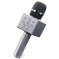 ZUMWALT Wireless Bluetooth Karaoke Microphone, 4 in 1 Portable Handheld Karaoke Mic Speaker Recorder, Kids Singing Microphone Toy with Voice Changer for Teen Girls Boys Children Birthday Party