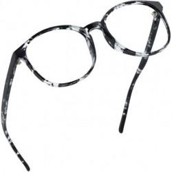 KAMANER Blue Light Blocking Glasses, Anti Eyestrain, Computer Reading Glasses, Gaming Glasses, TV Glasses for Women Men, Anti Glare (Gray, No Magnification)