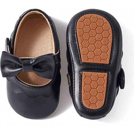 Aurigny Infant Toddler Baby Girl Walking Shoes, Mary Jane Shoes, Infant Dress Shoes Girl