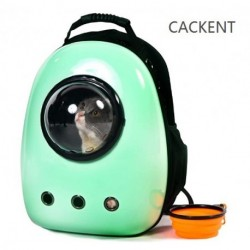 CACKENT Xpect Cat Carrier Bubble Backpack Small Dog Space Capsule Knapsack Pet Travel Bag Waterproof Breathable
