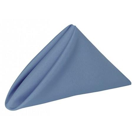 OTEZII 5 Dozen- 17 x 17-Inch Polyester Cloth Napkins, Periwinkle Blue