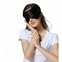 OUNUOFM Silk Sleep Mask & Blindfold, Soft Eye Mask with Adjustable Head Strap, Deep Rest Eye Masks for Sleeping Night Eyeshade