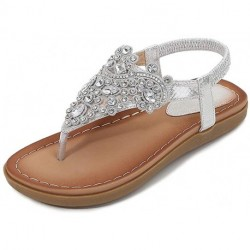 Vocaling Flat Sandals for Women Casual Clip Toe Sandals
