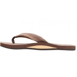 GOMIPE Sandals Men's Premier Leather Single Layer Wide Strap with Arch The size is as shown
