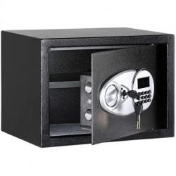 Fenuiy Steel, Security Safe Lock Box, Black - 0.5 Cubic Feet