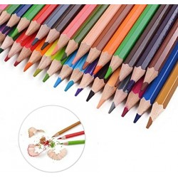 Rkqoa TOP 80-color Colored Pencils Set for Adults and Kids, Drawing Pencils for Sketch, Arts, Coloring Books