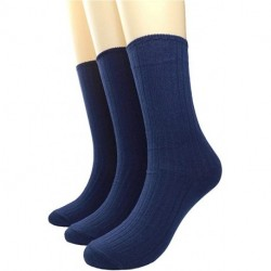 HYzgb Women's Pure Color Simple Sock Soft Comfort Casual Cotton Crew Socks