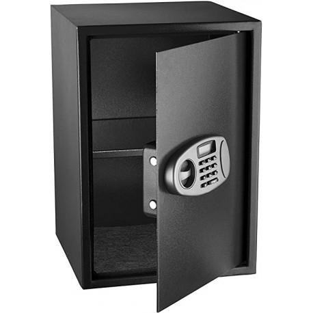 MaxDuty Security Safe with Digital Lock, Black, 2.32 Cubic Feet
