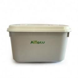 AIMerss 82 Quart Weathertight Storage Box, Store-It-All Utility Tote