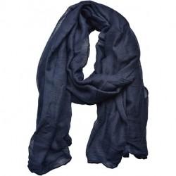 SIYIHW Women's Cotton Scarves Lady Light Soft Fashion Solid Scarf Wrap Shawl