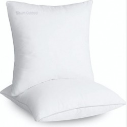 Ulsum Outdoor  Square pillows. 18 x 18 Inches Bed and Couch Pillows