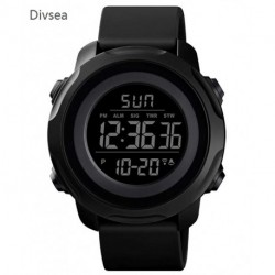 Divsea  Men's Digital Sports Watch Military Electronic Waterproof Wrist Watches for Men with Stopwatch Alarm LED Backlight