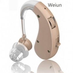 Weiun Rechargeable Hearing Amplifiers - Digital Personal Sound Enhancer with Volume Control Noise Reduction for Adults and Seniors