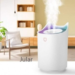 Jular 3.3L Humidifiers,Large Cool Mist Humidifier,Air Humidifier Baby Humidifier for Bedroom Travel Office Home, Auto Shut-Off, 2 Mist Modes, Super Quiet, Lasts Up to 30 Hours, White