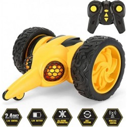 Joaaea RC Car Toys, Stunt Car for Kids, Remote Control Car 360 Rotation, Bumble Bee Lightning, Rock Crawler, Gifts for Boys Girls