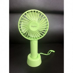 Rayico Portable Small Power Mini Fan with Aromatic Feature, Personal Battery Operated Handheld Fan with 3 Speeds, 4000 mAh USB Powered Fan,5-20 Hrs Runtime, Rechargeable Desk Fan for Eyelash, Hot Flashes