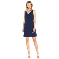 Sleeveless V Neck Textured Dress[sample]