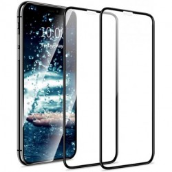 ZOAYBU Screen Protector for iPhone 11 Pro Max, iPhone XS Max Tempered Glass with Full Coverage and Edge-to-Edge Protection Case Friendly Protective Film for iPhone Xs Max/ 11 Pro Max 6.5 inch - 2 Pack