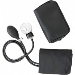 ZYOUO Manual Blood Pressure Cuff - Adult Large Medical Deluxe Aneroid Sphygmomanometer - Nurses BP Monitor with Durable Carrying case – Black