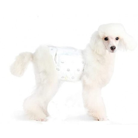 FABAUY Male Dog Wrap, Disposable Diapers - Pack of 30