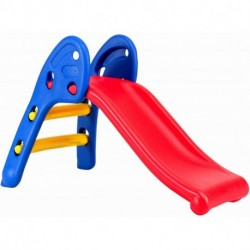 JTOGSE Indoor Slide for Kids, Toddler Freestanding Slide Climber Stairs, Sturdy Folding First Slide Playset Toy for Boys Girls Age 1-3