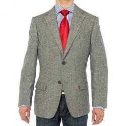 Men's Camel Hair Blazer Modern Fit Suit Jacket[sample]