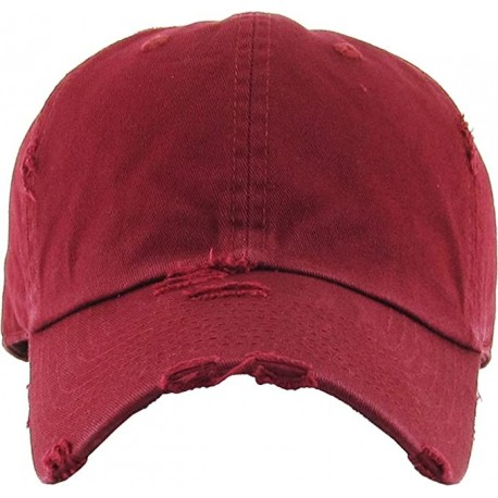 XTUEGF Vintage Washed Distressed Cotton Dad Hat Baseball Cap Adjustable Polo Trucker Unisex Style Headwear