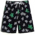 IYQCXF Mens Swim Trunks Long, Quick Dry Mens Boardshorts, 9 Inches Inseam Mens Bathing Suits with Mesh Lining