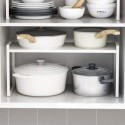UUluhao Cupboard Stand Spice Rack, Cabinet Pantry Shelf, Organization and Storage For Kitchen Bathroom