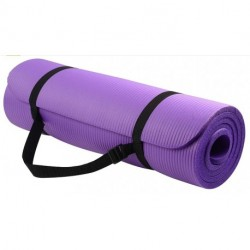 GELGE GoYoga All-Purpose 1/2-Inch Extra Thick High Density Anti-Tear Exercise Yoga Mat with Carrying Strap